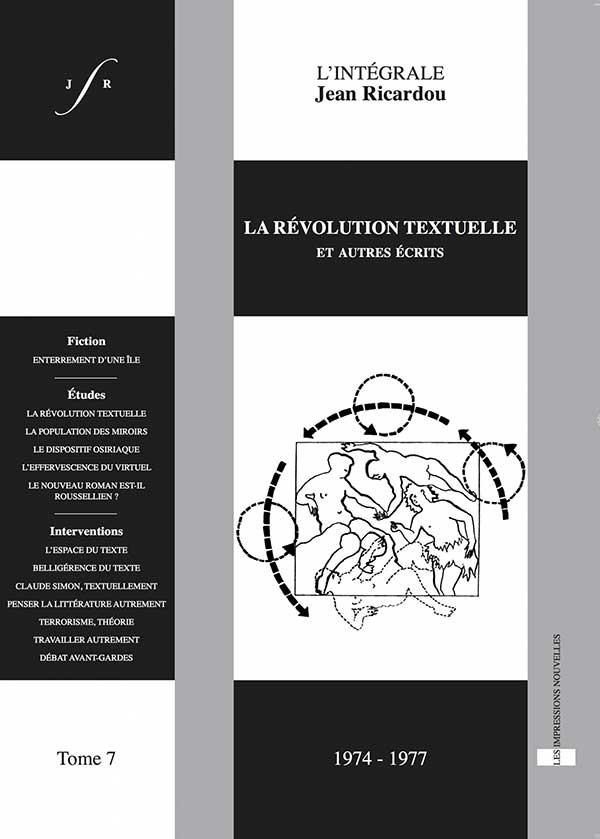 Couverture Tome 7 - Intégrale Jean Ricardou